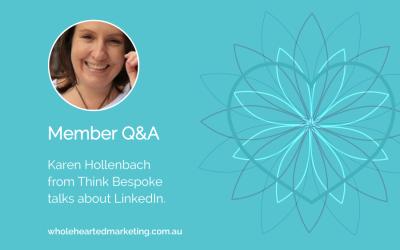 Member Q&A – Karen Hollenbach talks LinkedIn
