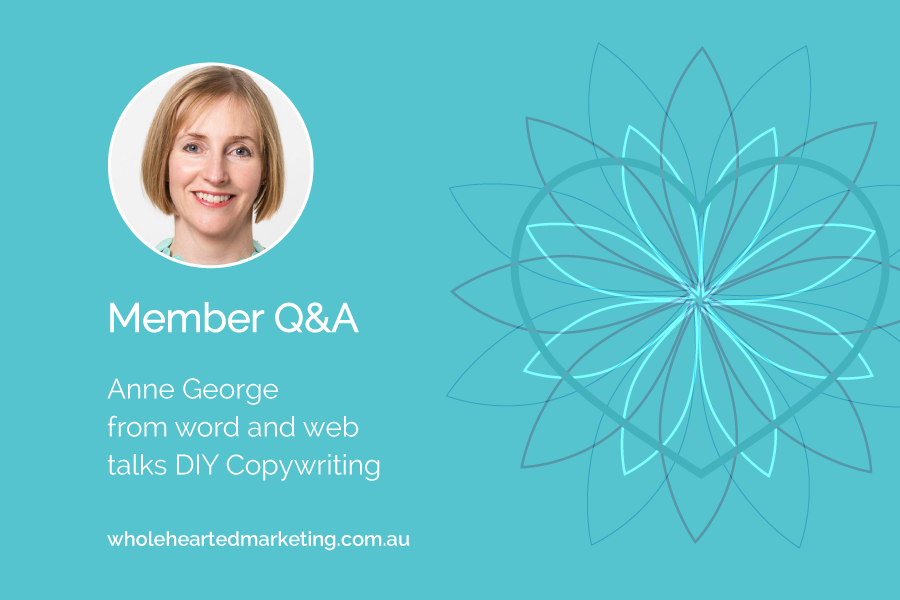 Anne George talks about DIY Copywriting