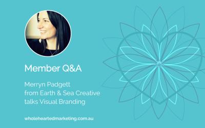 Member Q&A – Merryn Padgett talks Visual Branding