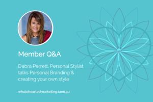 Q&A Video Debra Perrett