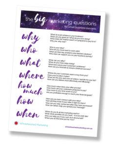 BIG Marketing Questions