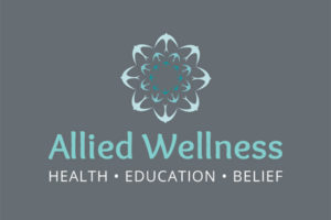 Allied Wellness - logo designed by Wholehearted Marketing